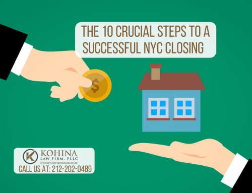 The Ten Crucial Steps to a Successful NYC Real Estate Closing