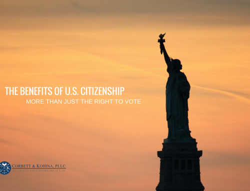 Benefits of US citizenship