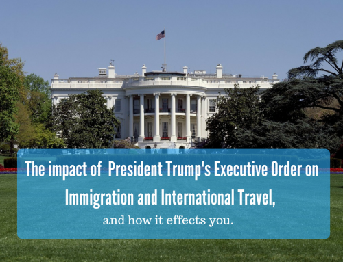 What does the president's executive order on immigration mean for you?