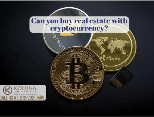 Cryptocurrency in real estate transactions