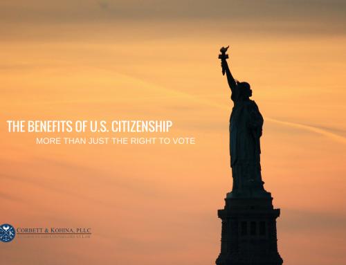 Benefits of US citizenship