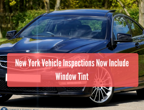 New York Vehicle Inspections Now Include Window Tint