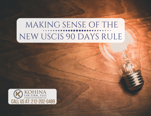 Making sense of USCIS new 90 days rule